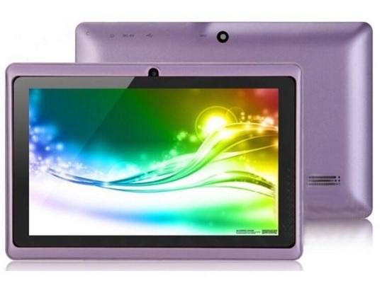 Tablet Lilac Colour
